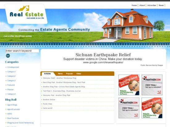 Real estate website templates free download images templates real estate website templates free download gallery templates top 10 wordpress real estate themes corpocrat magazine pronofoot35fo Image collections
