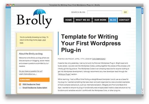 writing a wordpress plugin