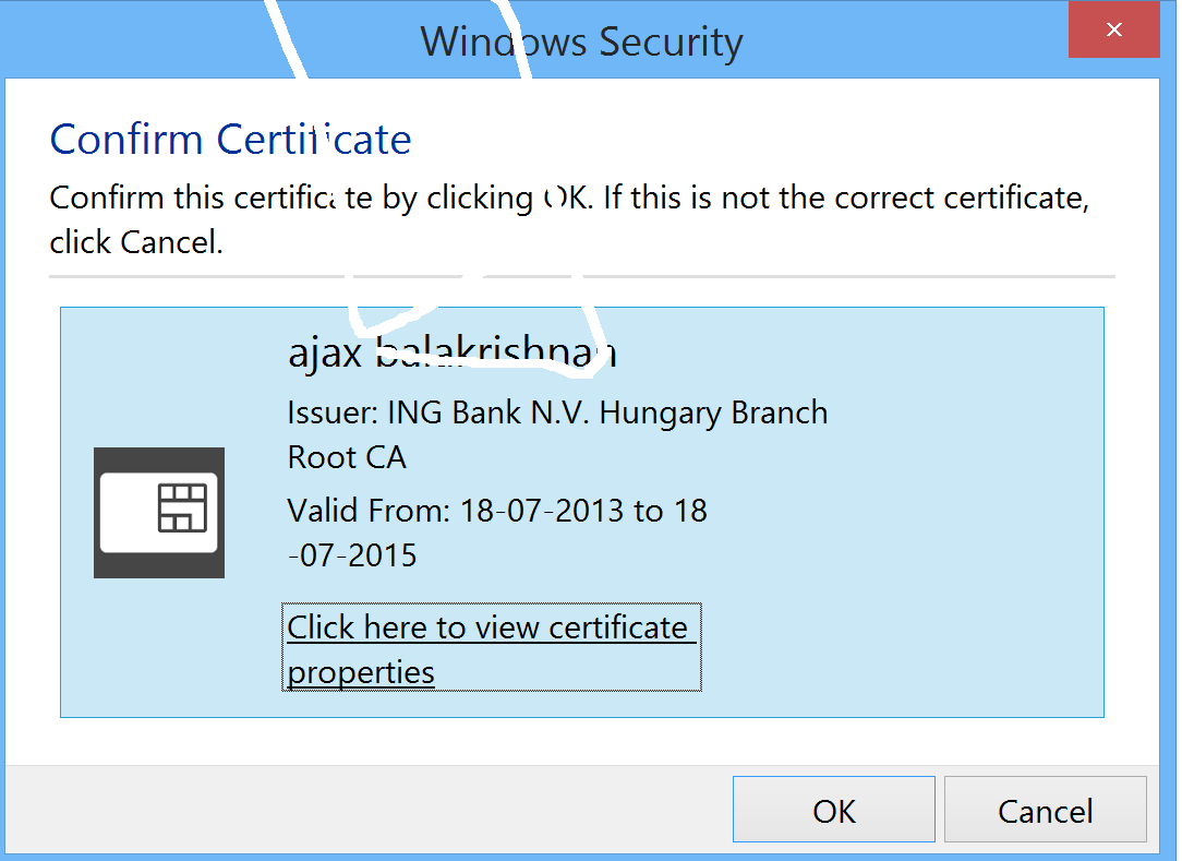 Browser Not Prompting For Pin With Smart Card Authentication
