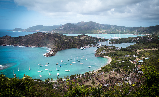English harbour - Antigua and Barbuda