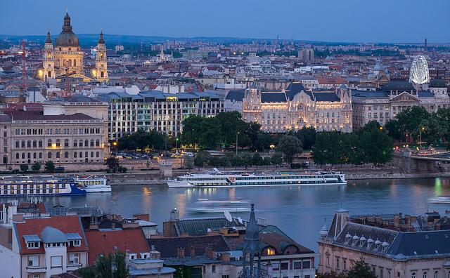 Budapest. Hungarian capital