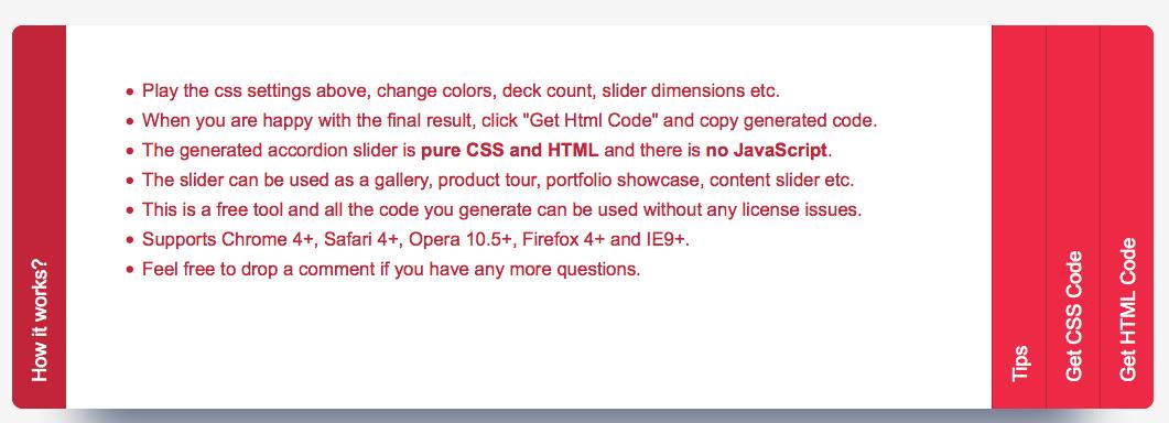 20 Cool Pure CSS sliders without jQuery/Javascript – Corpocrat Magazine