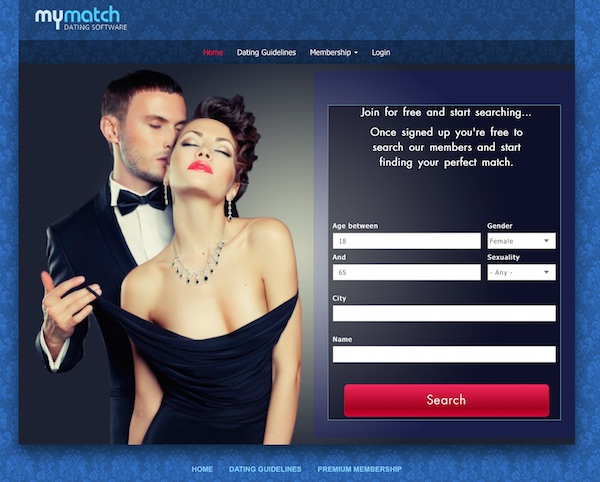 Php open source dating website