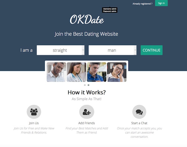 Free dating sites without login