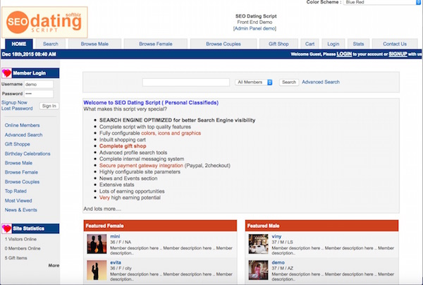 Cheap dating agency software