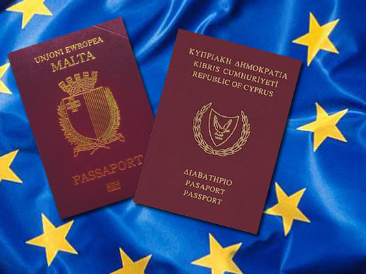 Malta and Cyprus passports