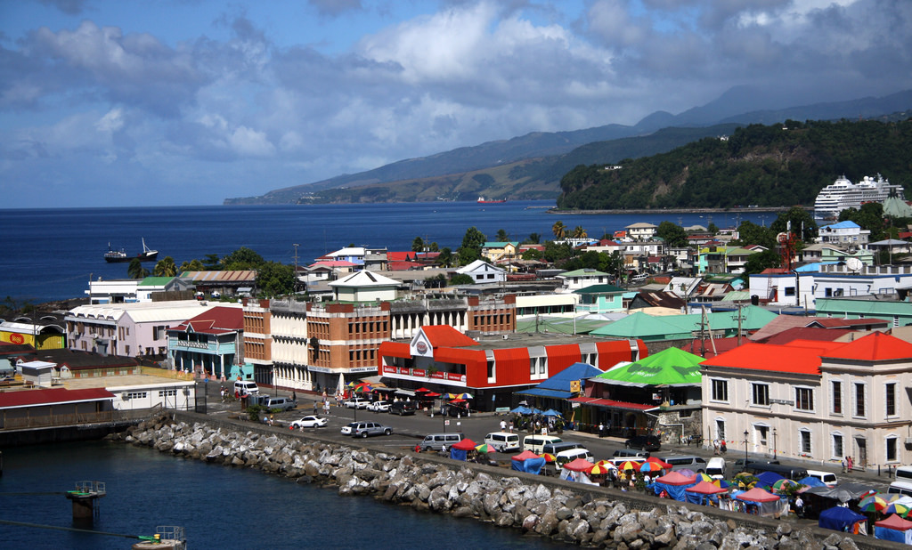 Roseau, Dominica - Flickr credit: https://www.flickr.com/photos/galfred/