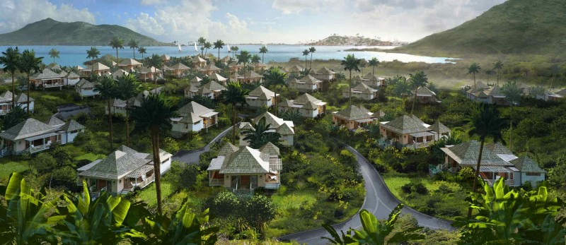 Source: Ocean Grove villas at Christophie harbour - christopheharbour.com