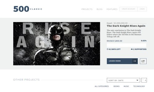 500 Classic – WordPress Theme