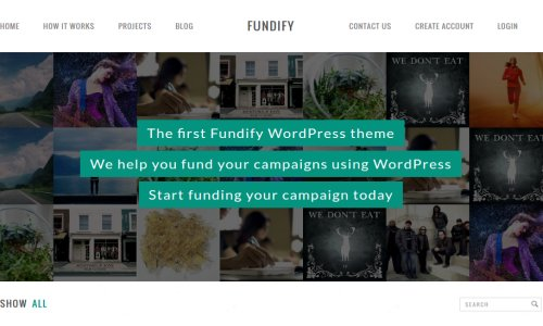 Fundify – An Exceptional WordPress Crowdfunding Theme