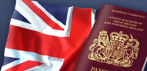 UK citizenship passport