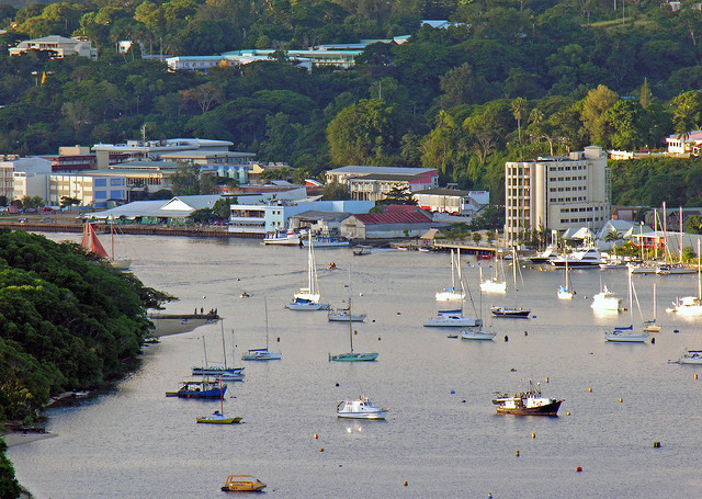Vanuatu capital Port vila