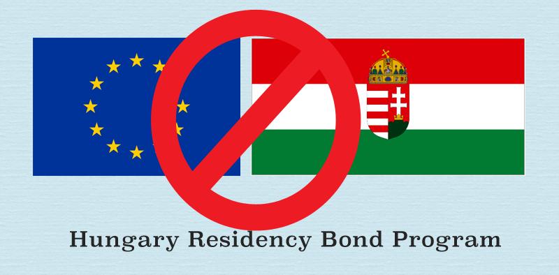 Hungary residency bonds closed
