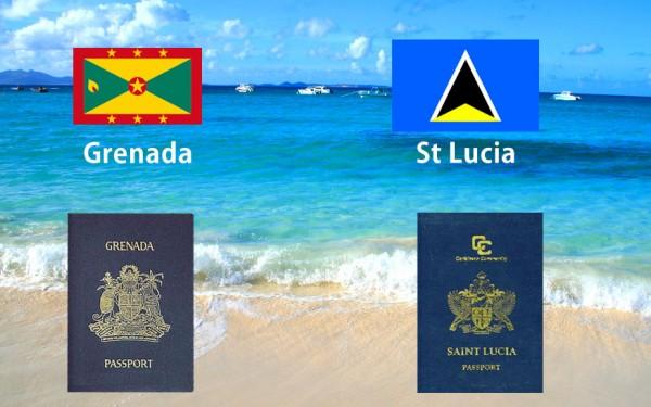Grenada v St Lucia Passports