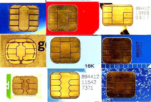 Differentsmartcardpadlayouts