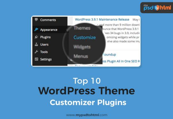 Top 10 WordPress Theme Customizer Plugins