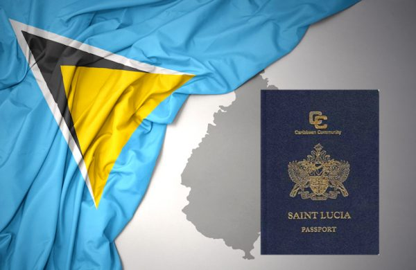 Saint Lucia Passport