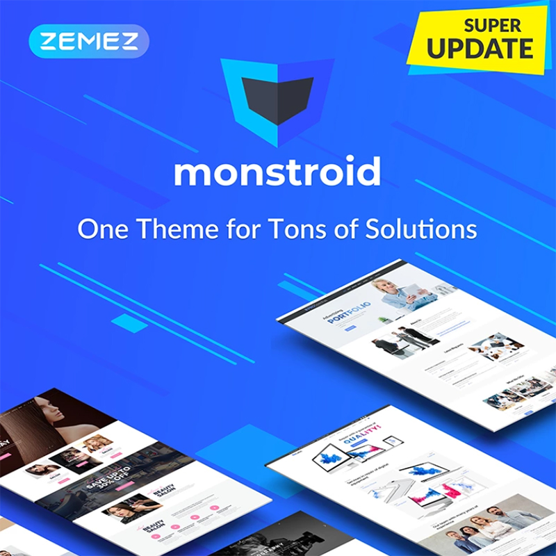 Monstroid - Best WordPress Theme