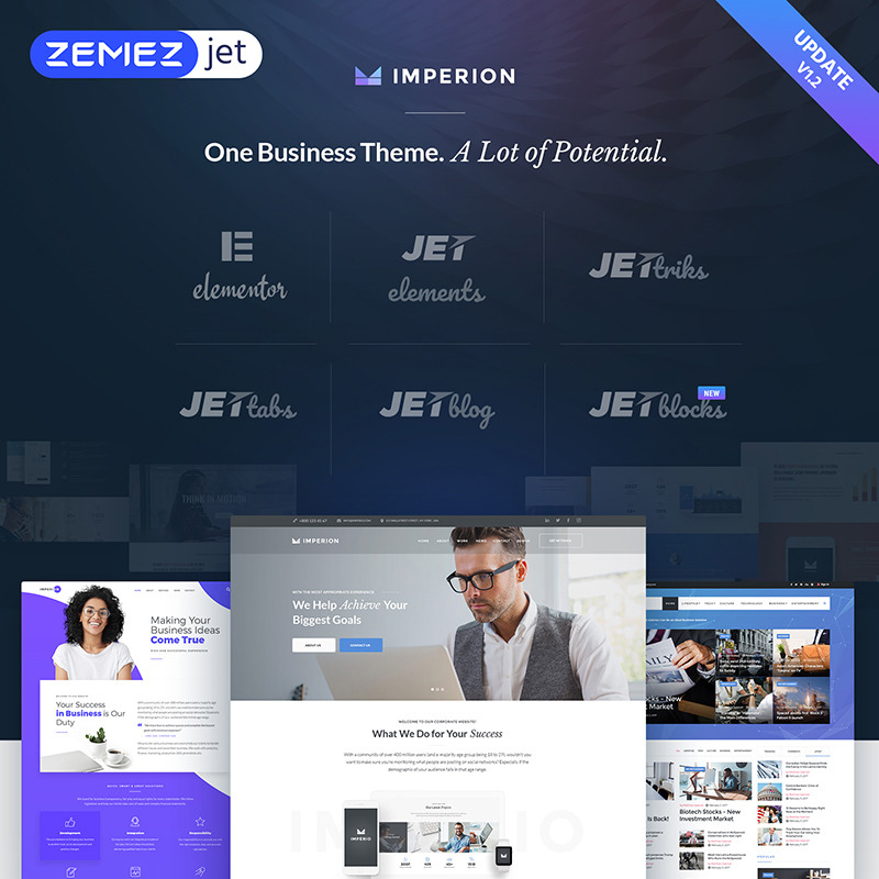 Business Marketing WordPress Theme